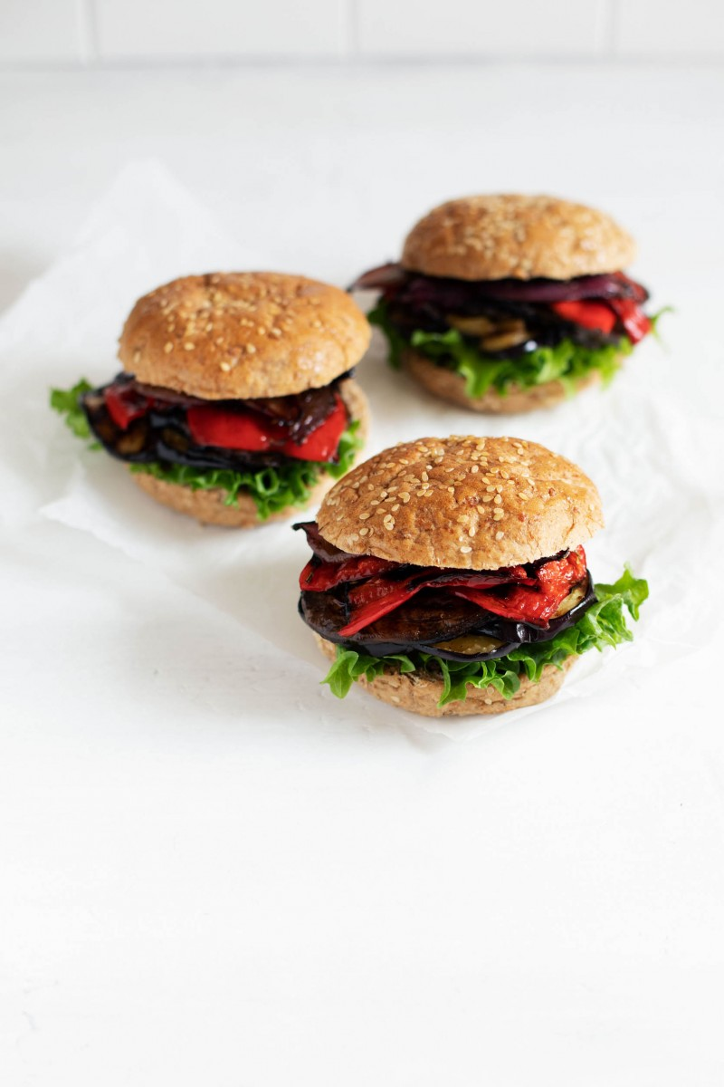 Plant-Based Vegetable Burgers | The Full Helping
